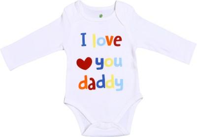Bio Kid Baby Boy's White Bodysuit