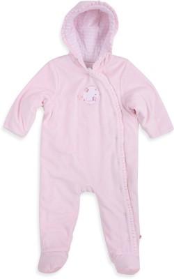 Mothercare Baby Girl's Baby Girl's Pink Bodysuit