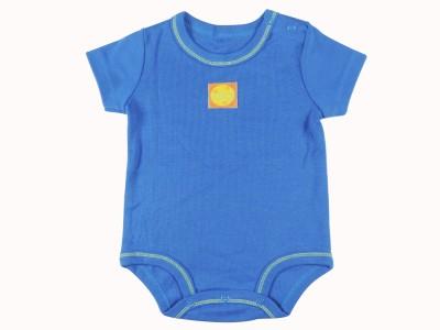 Ole Baby Style Star Baby Boy's Blue Bodysuit