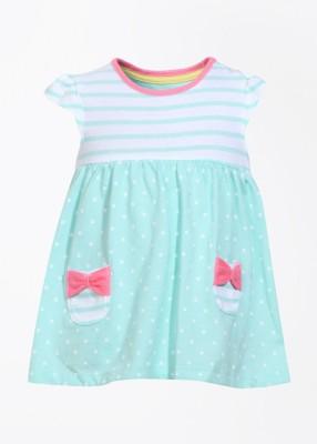 Mothercare Baby Girl's Baby Girl's White, Blue Bodysuit