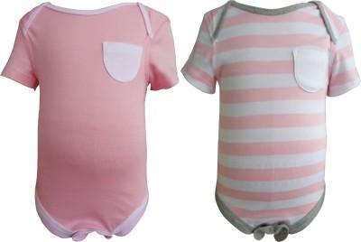 Teddy's Choice Baby Boy's Pink Bodysuit