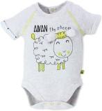 FS Mini Klub Baby Boys Grey Sleepsuit