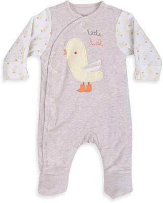 Mothercare Baby Girl's Baby Boy,s, Baby Girl's White, Beige Bodysuit