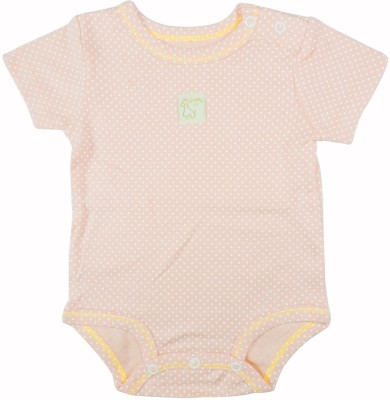 Ole Baby Style Star Baby Boy's Orange Bodysuit