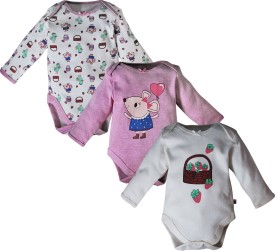 FS Mini Klub Baby Girls Multicolor Bodysuit