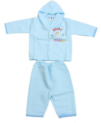 Romano Baby Boy's Blue Bodysuit and Bib