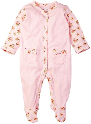 Mom & Me Baby Girl's Pink Sleepsuit