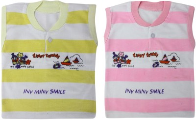 ZACHARIAS Baby Boy's Yellow, Pink Bodysuit