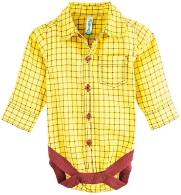 Snuggles Baby Boy's Yellow Bodysuit