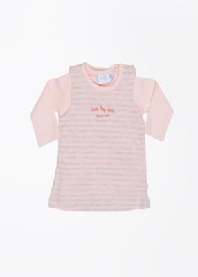 Feetje Baby Girl's Baby Girl's Pink, Grey Sleepsuit