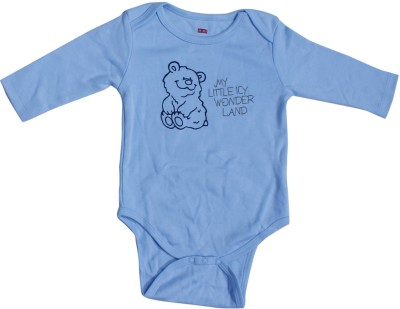 Indirang Baby Girl's Blue Bodysuit