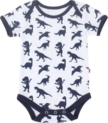 Nino Bambino Baby Boy's White Sleepsuit