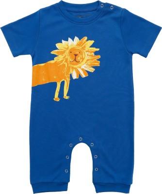 LIL PENGUIN Baby Girl's Blue Bodysuit