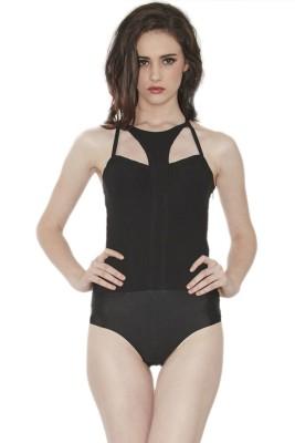 Divaat Women's Black Bodysuit