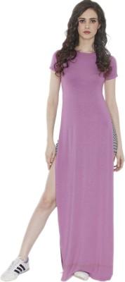 Divaat Women's Purple Bodysuit