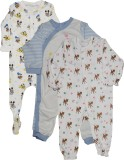 Indirang Baby Boys Multicolor Bodysuit
