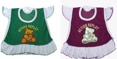 ZACHARIAS Baby Girl's Purple, Green Bodysuit