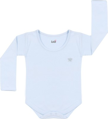 Lula Baby Boy's Blue Bodysuit