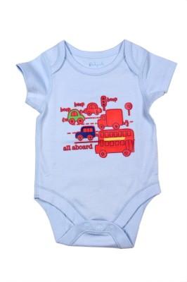 Babysafe Baby Boy,s Blue Bodysuit
