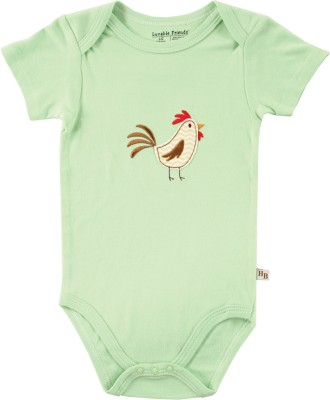 Hudson Baby Baby Boy's Green Bodysuit