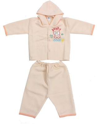 Romano Baby Boy's Orange Bodysuit and Bib