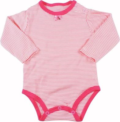 Ole Baby Style Star Baby Girls Pink Bodysuit
