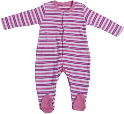 Indirang Striped Baby Boy's Jumpsuit