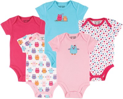 Luvable Friends Baby Girl's Multicolor Bodysuit