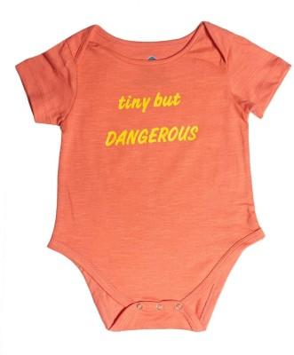 Blue Bus Store Slogan Baby Boy,s Red Bodysuit