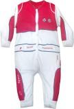 Instyle Baby Boys Red, White Bodysuit