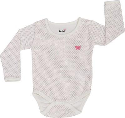 Lula Baby Girls Beige Bodysuit