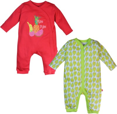 FS Mini Klub Baby Girl's Red Sleepsuit