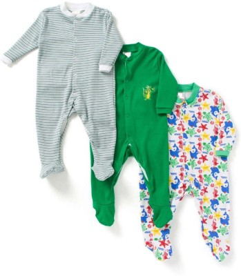 Poppins Baby Boy's Multicolor Bodysuit