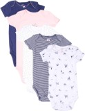 CARTER'S Girls Multicolor Sleepsuit