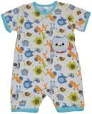 Baby Bucket Baby Boys Blue Bodysuit