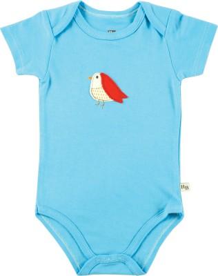 Hudson Baby Baby Boy's Blue Bodysuit