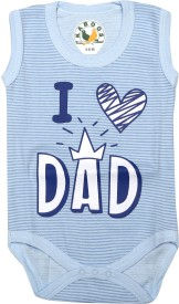 KABOOS Baby Boys Blue Bodysuit