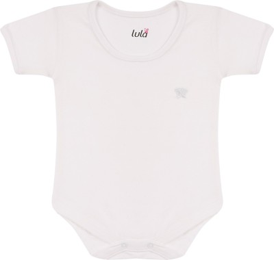 Lula Baby Boy's White Bodysuit