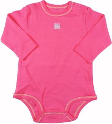 Ole Baby Style Star Baby Girl's Pink Bodysuit