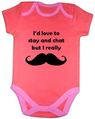 Chota Packet Baby Boy's Orange Bodysuit