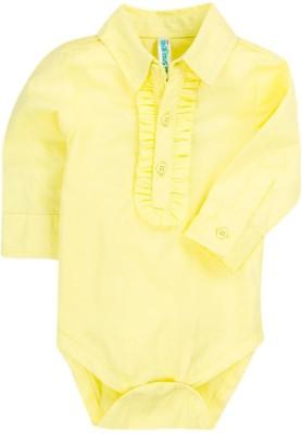 Snuggles Baby Girl's Yellow Bodysuit