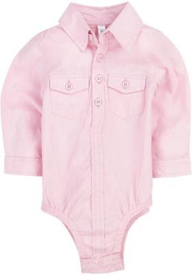 Snuggles Baby Boy's Pink Bodysuit