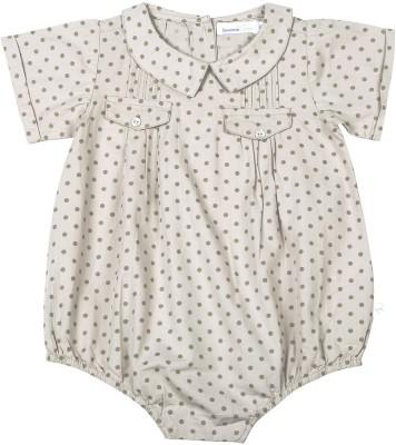ShopperTree Baby Girl's Grey Bodysuit