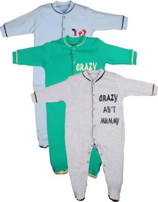 Gkidz Baby Boy's Multicolor Sleepsuit