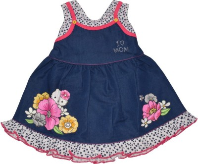 Baby Bucket Baby Girl's Pink Bodysuit