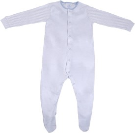 NeedyBee Baby Boys Blue Bodysuit
