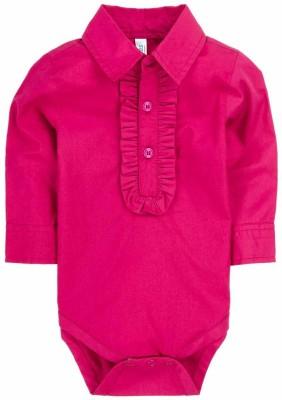 Snuggles Baby Girl's Pink Bodysuit
