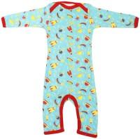 Earth Conscious Baby Boys Blue Bodysuit