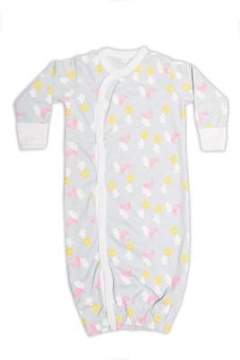 Nino Bambino Baby Boy's Multicolor Sleepsuit