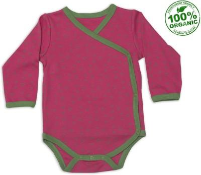 Nino Bambino Baby Girl's Pink Bodysuit